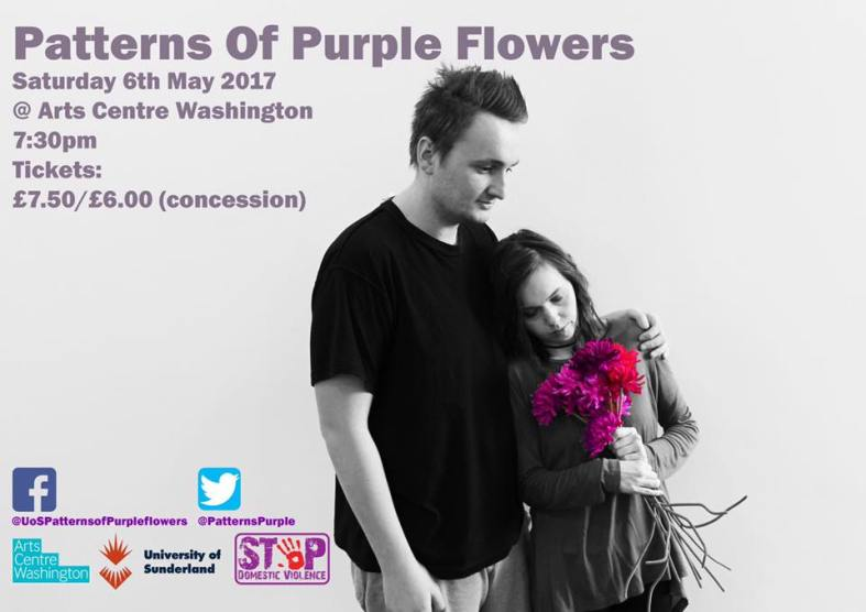 Patterns of Purple Flowers, featuring actors Alice Bickerdike and Steve Walker - 6th May 2017
